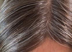 Cheveux blancs 1